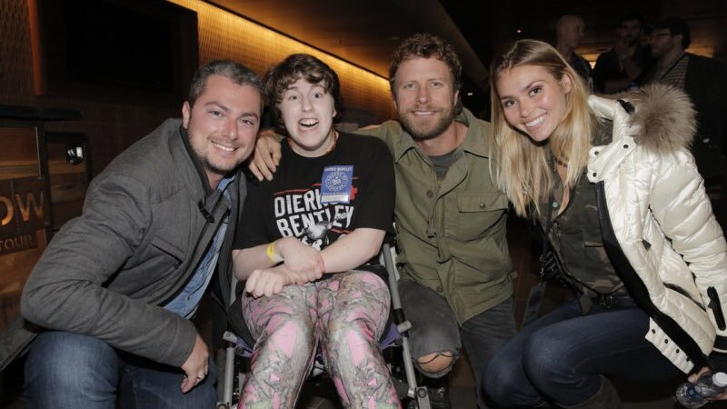 Sophia Victoria, Dierks Bentley and Eugene and Brooke Frenkel