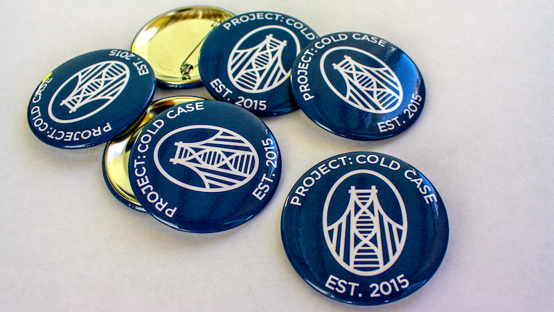 Project Cold Case Buttons