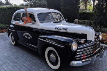 Restored Bal Harbour Police Cruiser