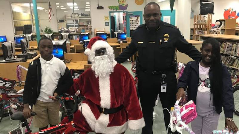 Bal Harbour Police annual Christmas Toy Drive