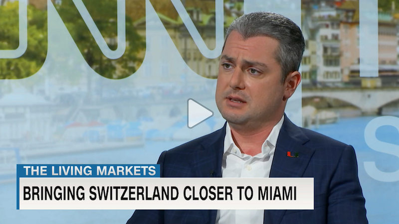 Eugene Frenkel on CNN Switzerland