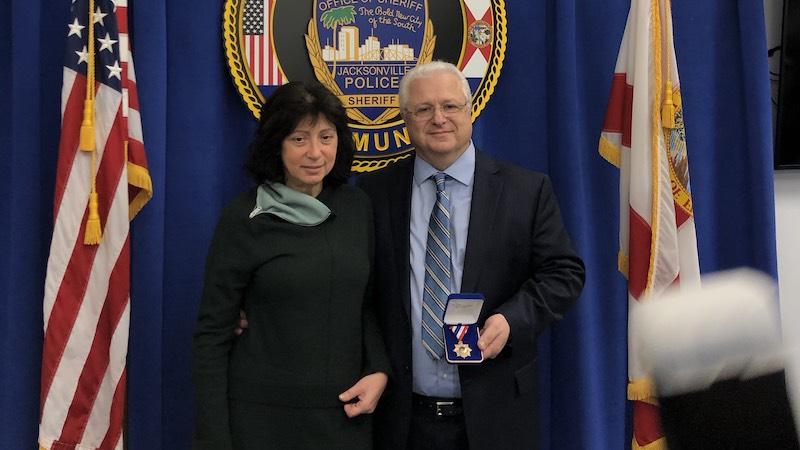 Dr. Raissa Frenkel and Dr. Lazar Finker